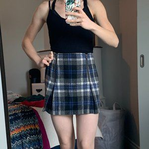 Minkpink plaid skirt